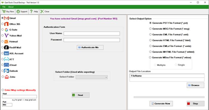Prenesite Programsko Opremo Cloud Backup Za Varnostno Kopiranje E-Pošte!