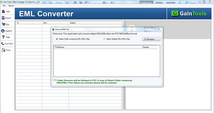 Uporabite Vsestransko Aplikacijo Za Pretvorbo Datotek Eml V Format Pst!