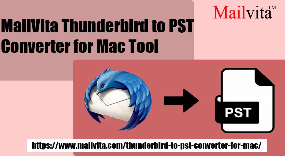 모든 이메일 및 첨부 파일이 포함 된 Mac에서 Thunderbird를 Pst로 변환
