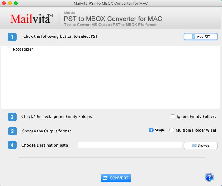"Premakni Outlook Pst V Bazo Podatkov Mbox Na Macu (10.15) ""cataline"""