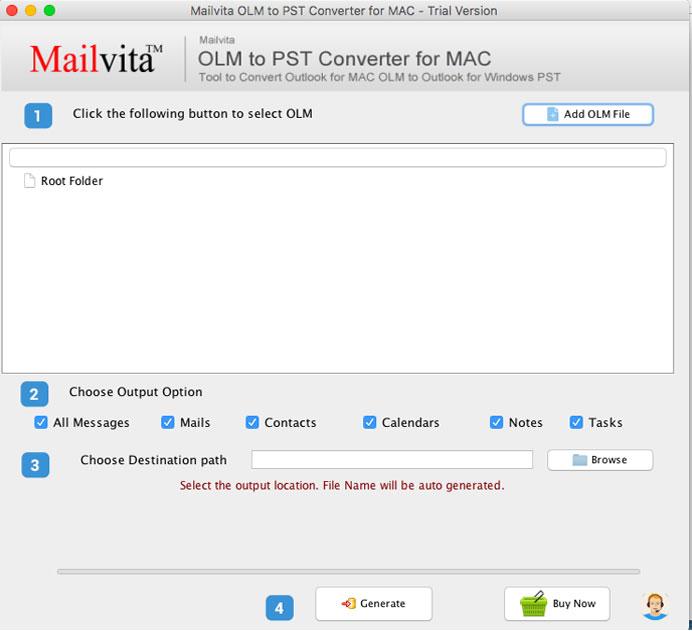 Sådan Konverteres Olm-Filer Til Outlook Pst-Format På Mac?