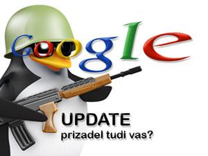Vam Je Obisk Vaše Spletne Strani Upadel? Se Ne Najdete Več Na Googlu? Prizadel Vas Je Novi Googlov Update T.i. Penguin
