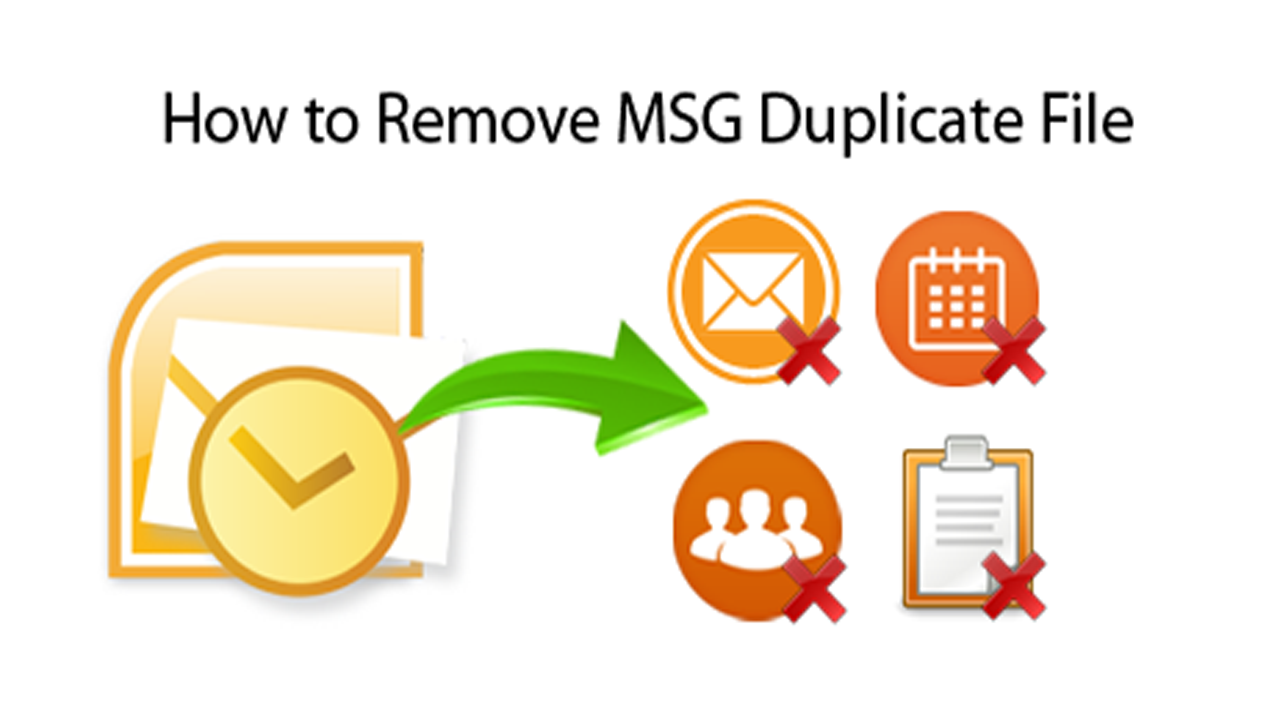 How To Quick Method To Remove Duplicate Emails In Msg?