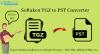 Kroki, Aby Przekonwertować Plik Tgz Do Formatu Pliku Pst