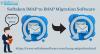 Koraki Za Selitev Oblike Zapisa Imap V Datoteko Imap
