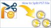 How To Break Microsoft Outlook Data File Manually
