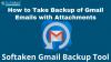 Kako Varnostno Kopirati E-Poštna Sporočila V Gmailu Na Računalnik / Trdi Disk Za Windows?